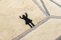 Diego Giacometti Diego Giacometti Carpet La Rencontre Signed circa 1984 France - 1103829