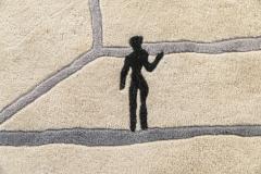 Diego Giacometti Diego Giacometti Carpet La Rencontre Signed circa 1984 France - 1103830