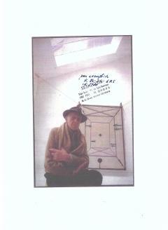 Diego Giacometti Diego Giacometti Carpet La Rencontre Signed circa 1984 France - 1103832
