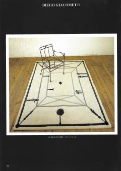 Diego Giacometti Diego Giacometti Carpet La Rencontre Signed circa 1984 France - 1103833