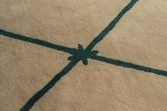 Diego Giacometti Diego Giacometti Carpet Promenade des Amis Signed circa 1984 France - 1103811