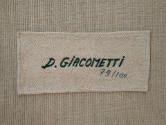 Diego Giacometti Diego Giacometti Carpet Promenade des Amis Signed circa 1984 France - 1103818