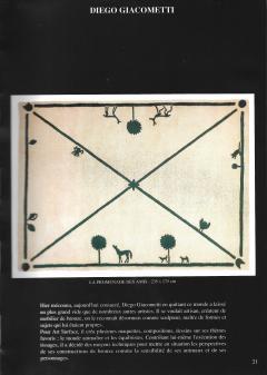 Diego Giacometti Diego Giacometti Carpet Promenade des Amis Signed circa 1984 France - 1103820