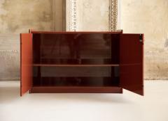 Dino Gavina Studio Simon Pair of Lacquered Cabinets Attributed to Dino Gavina - 1452854