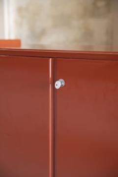 Dino Gavina Studio Simon Pair of Lacquered Cabinets Attributed to Dino Gavina - 1452855