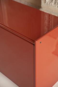 Dino Gavina Studio Simon Pair of Lacquered Cabinets Attributed to Dino Gavina - 1452859