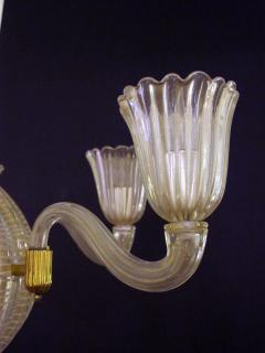 Dino Martens A good quality Murano 6 light spheroid chandelier by Dino Martens - 700749
