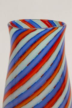 Dino Martens Striking Italian Ribbon Glass Vase by Dino Martens for Aureliano Toso - 254465