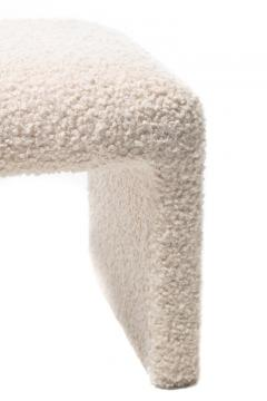 Directional PAIR OF WATERFALL BENCHES IN IVORY BOUCL BY DIRECTIONAL CIRCA 1970S - 1921821