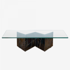 Directional Paul Evans PE 11 Angle Zig Zag Cocktail Table for Directional - 1928117