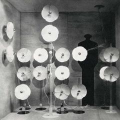 Disderot Olivier Mourgue Model 2093 BO Suspension Lamp for Disderot - 1449978