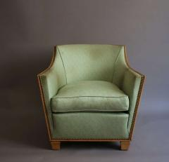 Dominique French Art Deco Armchair by Dominique - 386678