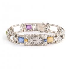 Dreicer Co Antique Diamond and Multi gem Watch - 1205859