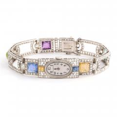 Dreicer Co Antique Diamond and Multi gem Watch - 1206135