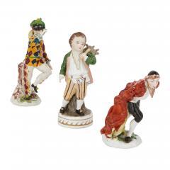 Dresden Porcelain Set of twelve Dresden porcelain figures and groups - 1274659