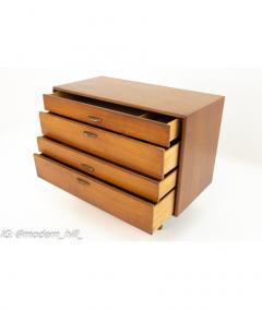 Drexel Drexel Heritage Furniture Barney Flagg Drexel Parallel Mid Century 4 Drawer Chest - 1830568