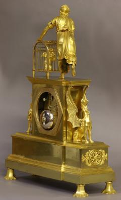 Dubuc Aine Paris c 1810 French Ormolu Mantle Clock - 1184081