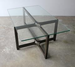 Dunbar Dunbar Coffee Table by Tom Lopinski in Oil Rubbed Bronze and Glass - 1847004