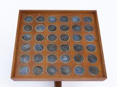 Dunbar Edward Wormley Janus Occasional Tables with Natzler Tiles for Dunbar in Walnut - 1664165