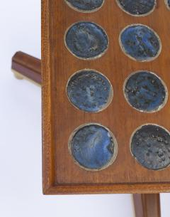 Dunbar Edward Wormley Janus Occasional Tables with Natzler Tiles for Dunbar in Walnut - 1664168