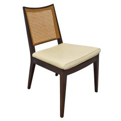 Dunbar Edward Wormley Set of 4 Dining Game Chairs in Mahogany 1963 Signed  - 1623040