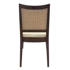 Dunbar Edward Wormley Set of 4 Dining Game Chairs in Mahogany 1963 Signed  - 1623041