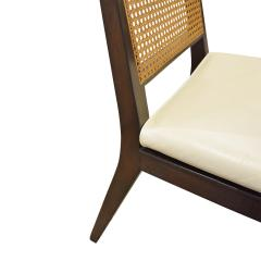 Dunbar Edward Wormley Set of 4 Dining Game Chairs in Mahogany 1963 Signed  - 1623042