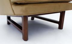 Dunbar Edward Wormley for Dunbar Janus Wing Back Lounge Chair Ottoman Model 5761 - 2096687