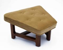 Dunbar Edward Wormley for Dunbar Janus Wing Back Lounge Chair Ottoman Model 5761 - 2096696