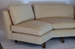 Dunbar Impeccable Reupholstered Dunbar Sectional Sofa by Edward Wormley - 1175994