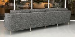 Dunbar Midcentury Dunbar Style Sofa with 10 Legs - 1397708