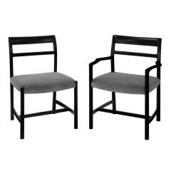 Dunbar Roger Sprunger Set of 6 Dining Chairs for Dunbar 1967 Signed  - 1643581