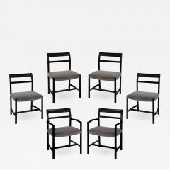Dunbar Roger Sprunger Set of 6 Dining Chairs for Dunbar 1967 Signed  - 1648119