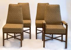 Dunbar Set of Eight Upholstered Dining Chairs by Dunbar 1970s - 1282846