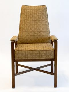 Dunbar Set of Eight Upholstered Dining Chairs by Dunbar 1970s - 1282849