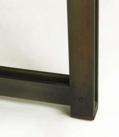 Dunbar Tom Lopinski for Dunbar Bronze Rosewood and Smoked Glass Coffee Table - 267221