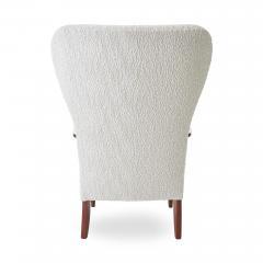 Dux 1950s DUX Walnut High Back Lounge Chair - 1604537