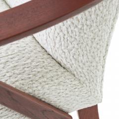 Dux 1950s DUX Walnut High Back Lounge Chair - 1604539