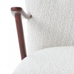 Dux 1950s DUX Walnut High Back Lounge Chair - 1604542