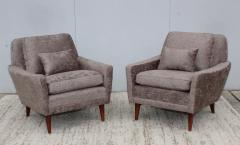Dux Mid Century Modern Swedish Lounge Chairs By Dux - 1355315