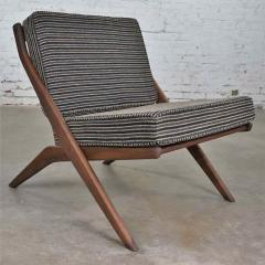 Dux Scandinavian modern scissor lounge chair by folke ohlsson for dux - 1624947