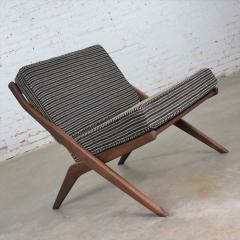 Dux Scandinavian modern scissor lounge chair by folke ohlsson for dux - 1624954