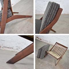 Dux Scandinavian modern scissor lounge chair by folke ohlsson for dux - 1624955