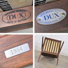 Dux Scandinavian modern scissor lounge chair by folke ohlsson for dux - 1624956