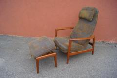 Dux Teak Lounge Chair and Ottoman by Folke Ohlsson for Dux - 893247
