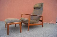 Dux Teak Lounge Chair and Ottoman by Folke Ohlsson for Dux - 893250