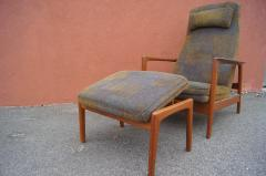 Dux Teak Lounge Chair and Ottoman by Folke Ohlsson for Dux - 893256