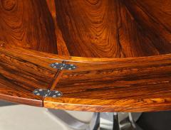 Dyrlund A Danish Rosewood Lotus Design Dining Table by Dyrlund - 1083818