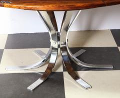 Dyrlund A Danish Rosewood Lotus Design Dining Table by Dyrlund - 1083819