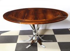 Dyrlund A Danish Rosewood Lotus Design Dining Table by Dyrlund - 1083821